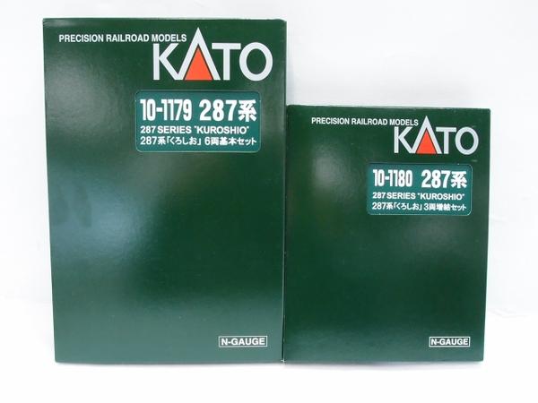 中古 KATO カトー 10-1179 10-1180 287系 くろしお 6両基本セット 鉄道模型 NゲージS2589658_画像2