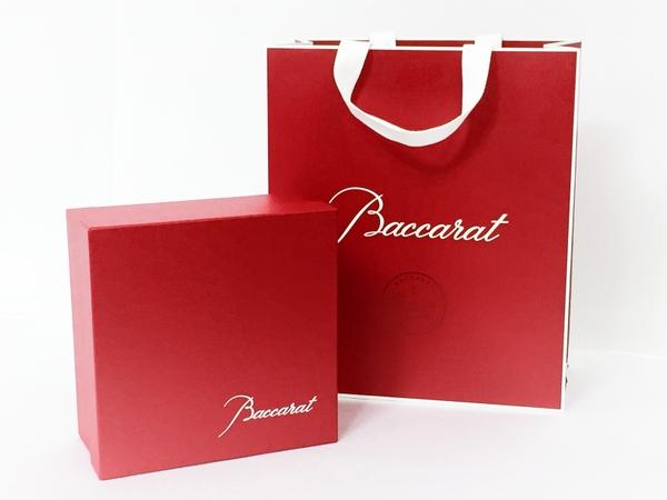 未使用 Baccarat バカラ アルクール レッドボタングラス 2客セット ワイングラス T2593775_画像5