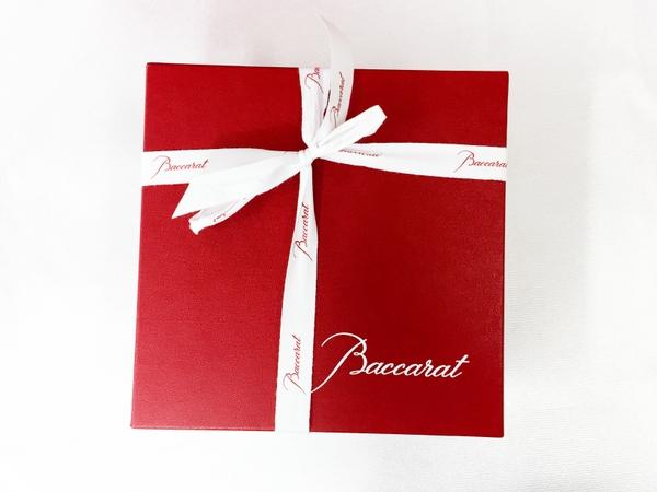 未使用 Baccarat バカラ アルクール レッドボタングラス 2客セット ワイングラス T2593775_画像6