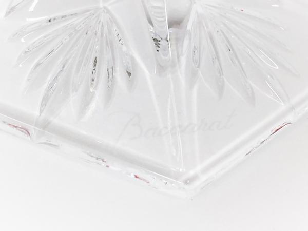 未使用 Baccarat バカラ アルクール レッドボタングラス 2客セット ワイングラス T2593775_画像3