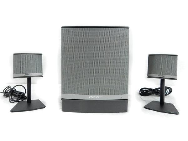 中古 BOSE Companion 3 Series II マルチ メディア スピーカー システム アンプ 内蔵型 S2555552