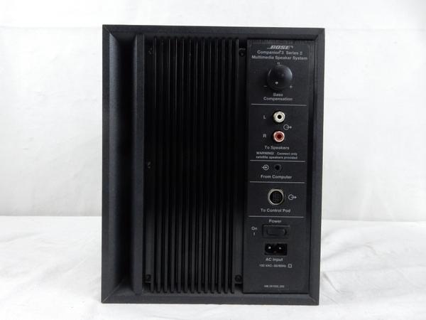 中古 BOSE Companion 3 Series II マルチ メディア スピーカー システム アンプ 内蔵型 S2555552_画像4
