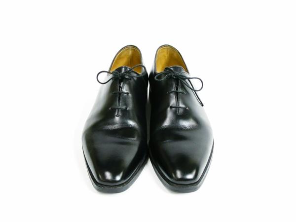 美品 Berluti Alessandro Démesure ベルルッティ アレクサンドロ レースアップ ビジネスシューズ 黒 ブラック 革靴 T2595058_画像2
