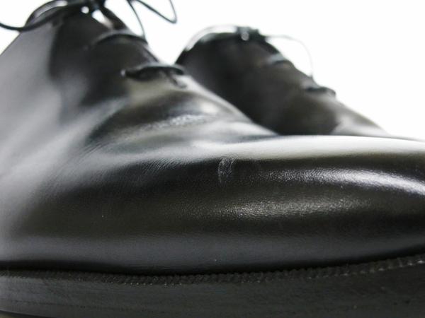 美品 Berluti Alessandro Démesure ベルルッティ アレクサンドロ レースアップ ビジネスシューズ 黒 ブラック 革靴 T2595058_画像8
