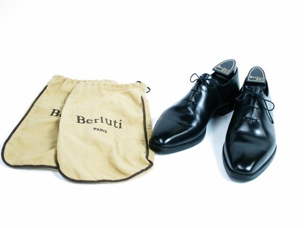 美品 Berluti Alessandro Démesure ベルルッティ アレクサンドロ レースアップ ビジネスシューズ 黒 ブラック 革靴 T2595058_画像10