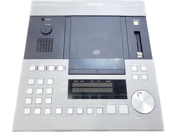 中古 スタジオ業務用 CD Player ストゥーダ STUDER D730 CDS SERIES コンパクト ディスク プレーヤー S2592414