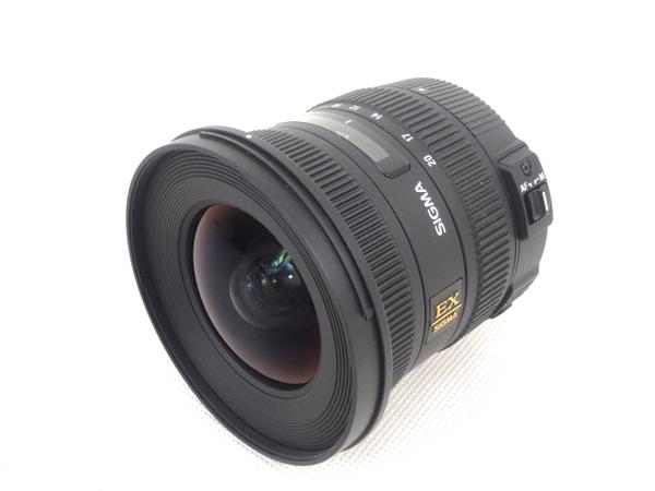 中古 SIGMA レンズ 10-20mm F3.5 DC HSM Nikon用 M2585137