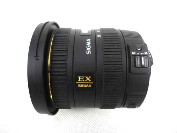 中古 SIGMA レンズ 10-20mm F3.5 DC HSM Nikon用 M2585137_画像4