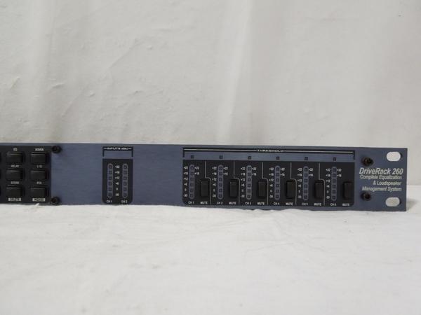 中古 dbx デジタル マルチ プロセッサー Drive Rack 260 音響 オーディオ S2595485_画像2