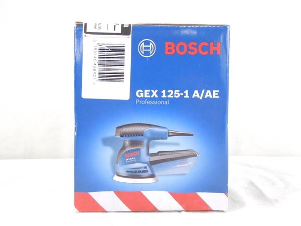 未使用 BOSCH GEX 125-1AE 電動ポリッシャー 電動工具 研磨機 S2595892_画像3