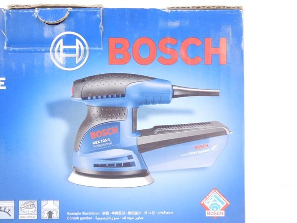 未使用 BOSCH GEX 125-1AE 電動ポリッシャー 電動工具 研磨機 S2595892_画像2