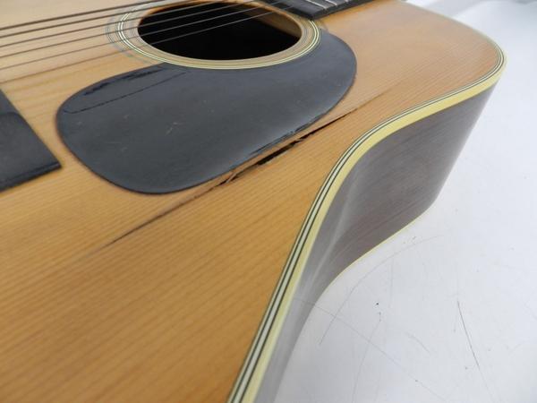 ジャンク Martin マーチン D-28 アコースティックギター ブルーケース付 F2596801_画像4