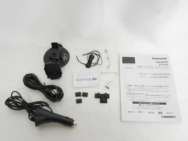 ジャンク 訳有 Panasonic パナソニック Gorilla CN-GP755VD カーナビ SSD ポータブル 7型 T2514660_画像6
