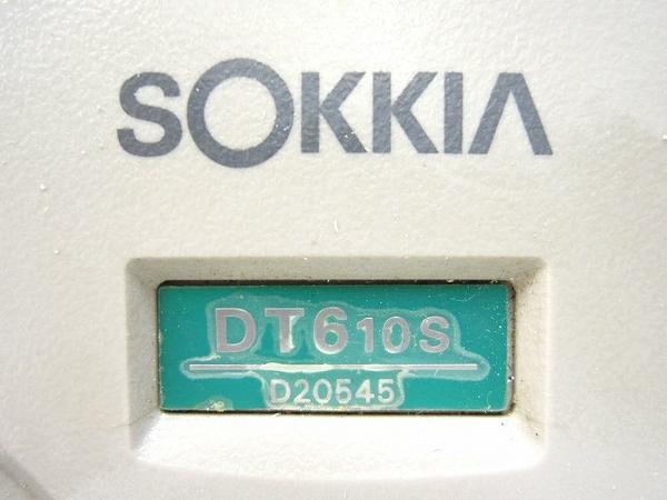 ジャンク SOKKIA ソキア 電子セオドライト DT610S O2598896_画像10