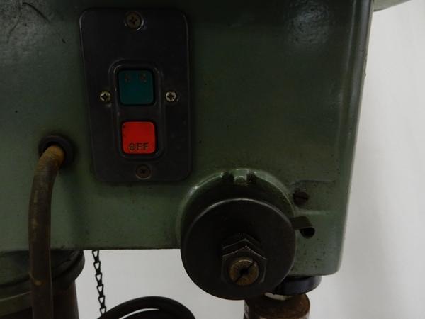 ジャンク KIRA キラ 卓上ボール盤 NSD-340 タッピング 金属加工 楽S2610833_画像7