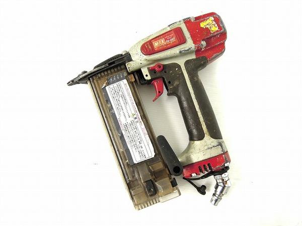 中古 MAX マックス スーパーフィニッシュネイラ TA-221 釘打機 電動工具 O2610998