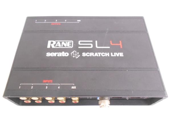 中古 Rane SCRATCH LIVE SL4 デジタルDJシステム インターフェース N2612264
