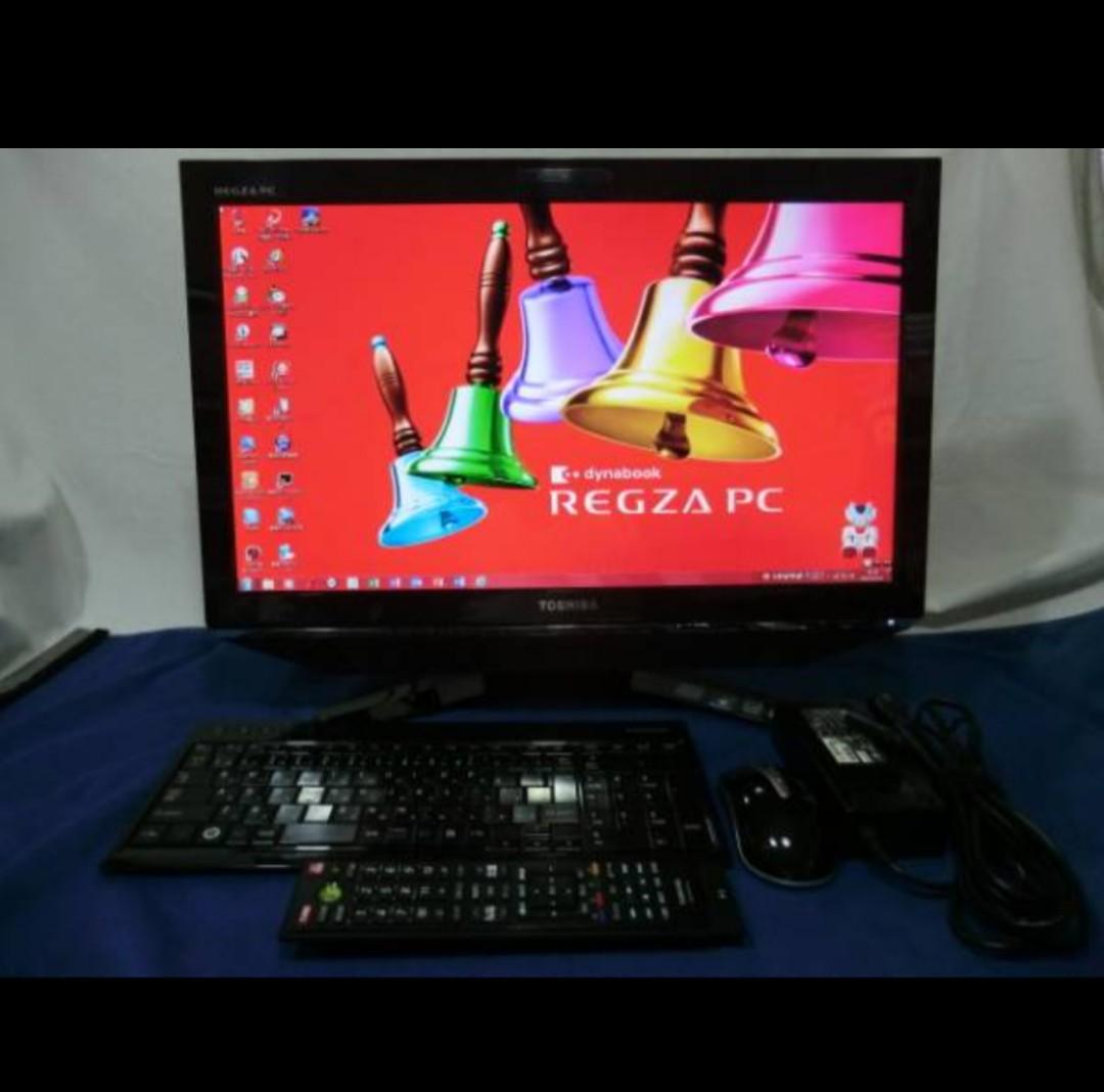 東芝 REGZA D731/T7DB 23インチ HDD2TB 美品です☆ミ