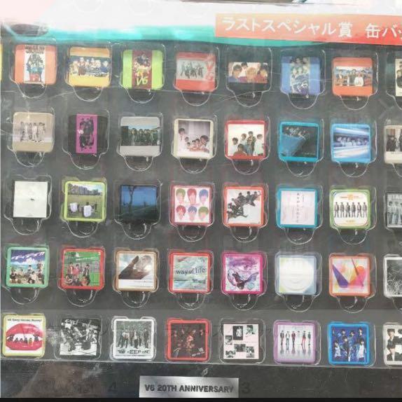 V6 ラストスペシャル賞 缶バッチ コンサートグッズの画像