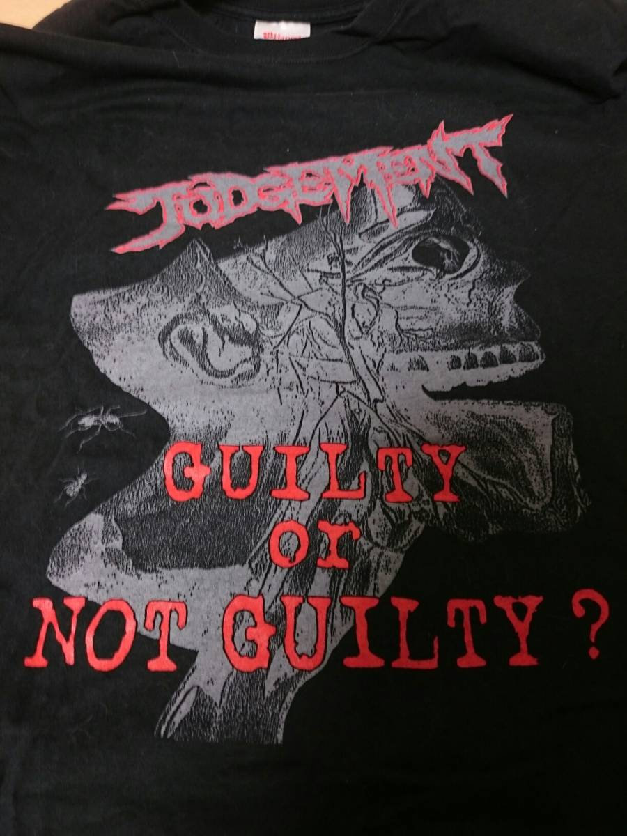 JUDGEMENT②【Tシャツ】 gism crust disclose lipcream zouo execute deathside humangas mobs sob outo crow framtid 鉄アレイ ジャパコア