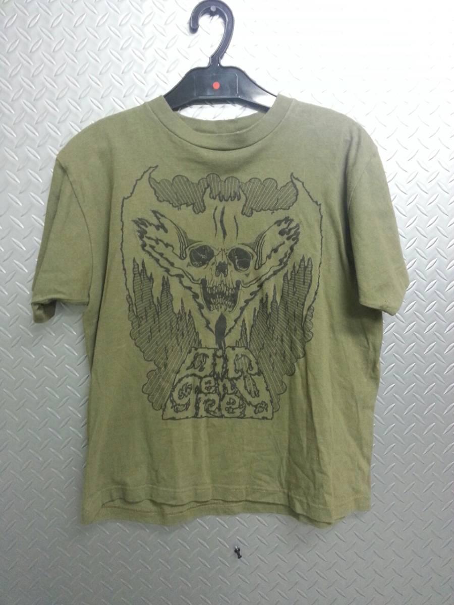 BLACKTOPMOTORCYCLE×DEADLY CLARISスカルTシャツ/ハードコアロックDIR EN GREY京UROBOROS ライブグッズの画像