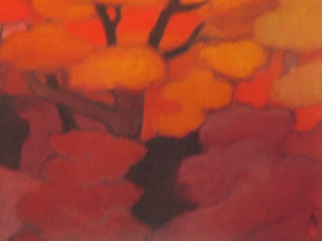 東山魁夷、『光昏』、大判・希少画集画、新品高級額装付、状態良好、送料無料、風景画_画像2