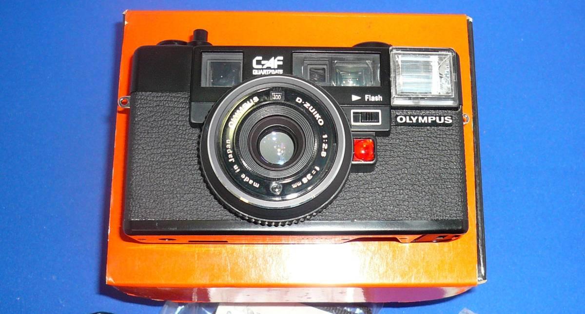 910)最終値下げ、オリンパスクオーツデイトC-AF新品元箱完全未開封カメラ、完全未開封の希少価値_写真撮影のため取り出しました希少価値あり