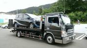 ★☆★ 積載車 三菱キャンター キャリアカー フルフラットカスタム ★☆★