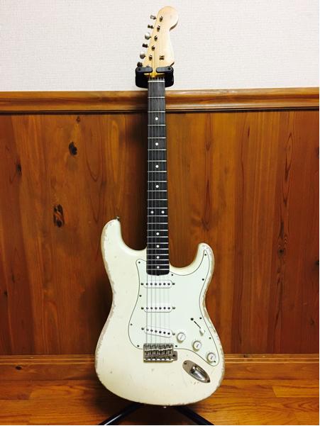 ♪ 最落なし ALLPARTS LIC BY Fender コンポネート ギター MJT RELIC Fender 系 ♪