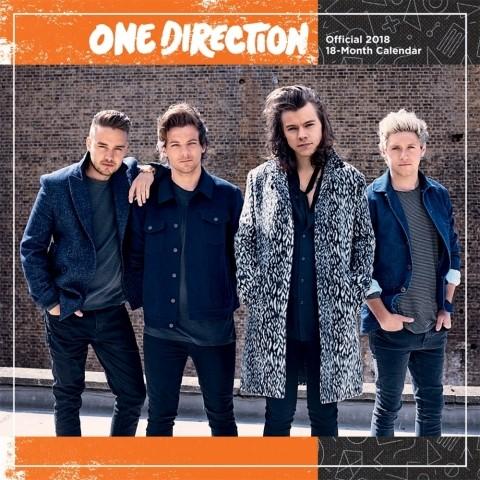 2018年 ワンダイレクション One Direction★輸入カレンダー [18X1465091874OR] ポスターとしても楽しめます!