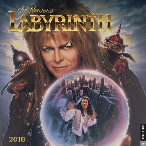 2018年 Jim Henson's Labyrinth ジム・ヘンソンの魔法物語★輸入カレンダー [18R0789333678OPR] 60x30cmポスターとしても 楽しめる!