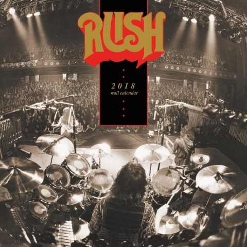 2018年 ラッシュ Rush ★@輸入カレンダー [18R81554843541OPR] 60x30cmポスターとしても 楽しめる!