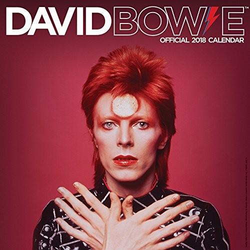 2018年 デビッド・ボウイ  David Bowie ★輸入カレンダー [18R1847577814OPR] 60x30cmポスターとしても 楽しめる!