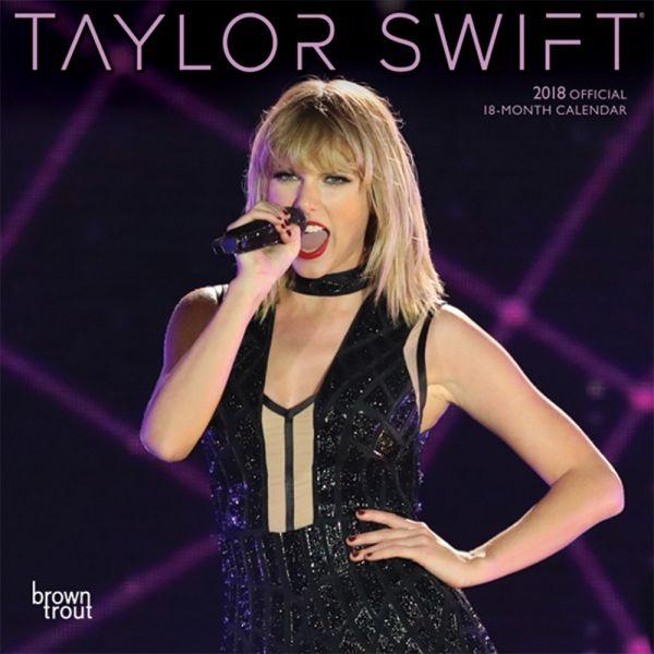 2018年 テイラー・スウィフト Taylor Swift 輸入miniカレンダー [18X1465091327OR] 小さいサイズをお好みの方に!
