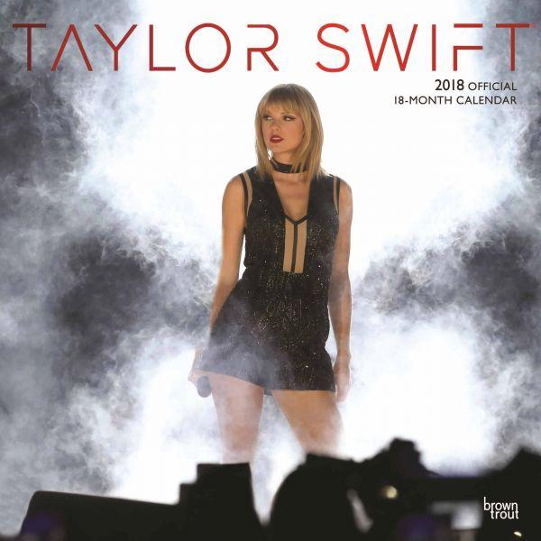 2018年 テイラー・スウィフト Taylor Swift 輸入カレンダー [18X1465091335OR] ポスターとしても楽しめます!