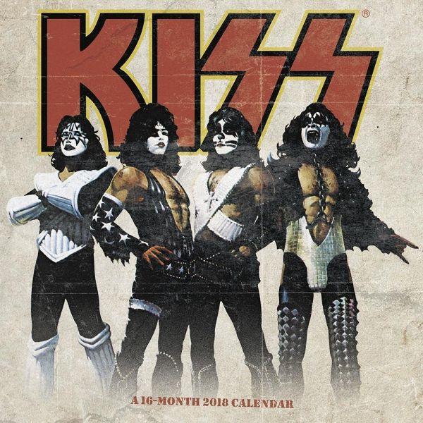 2018年 Kiss キッス★ 輸入カレンダー [18X1682097153OR] ポスターとしても楽しめます!