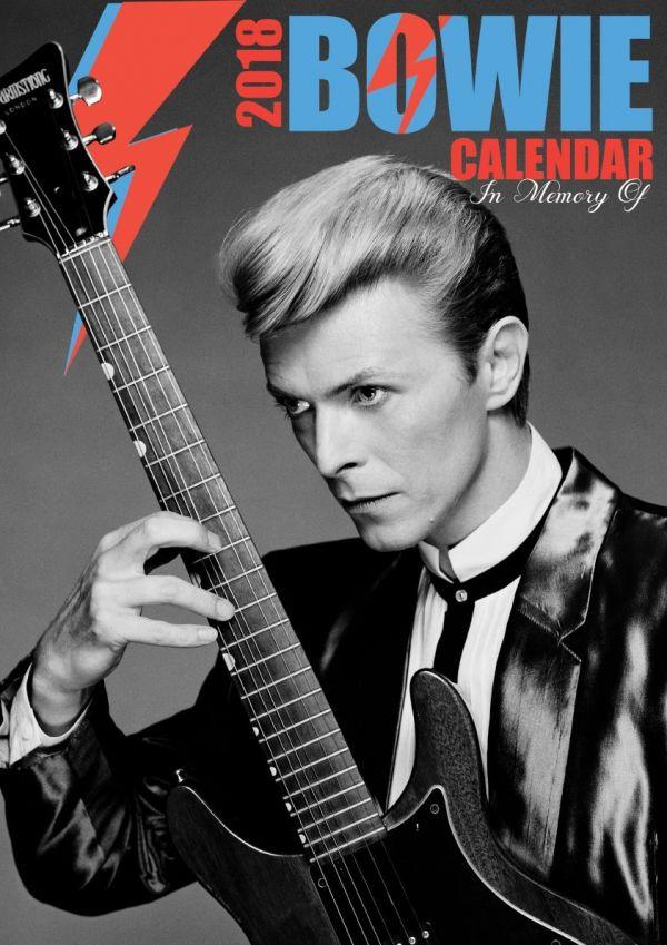 2018年 デヴィッド・ボウイ  Memory of David Bowie ★輸入カレンダー [18XB0711LW6YTOR]42cmサイズ ポスターとしても楽しめます!