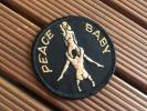 Deadstock【70's PEACE BABY ワッペン】ビンテージSEXFUCKヒッピーピーターマックスヘルズエンジェルズ