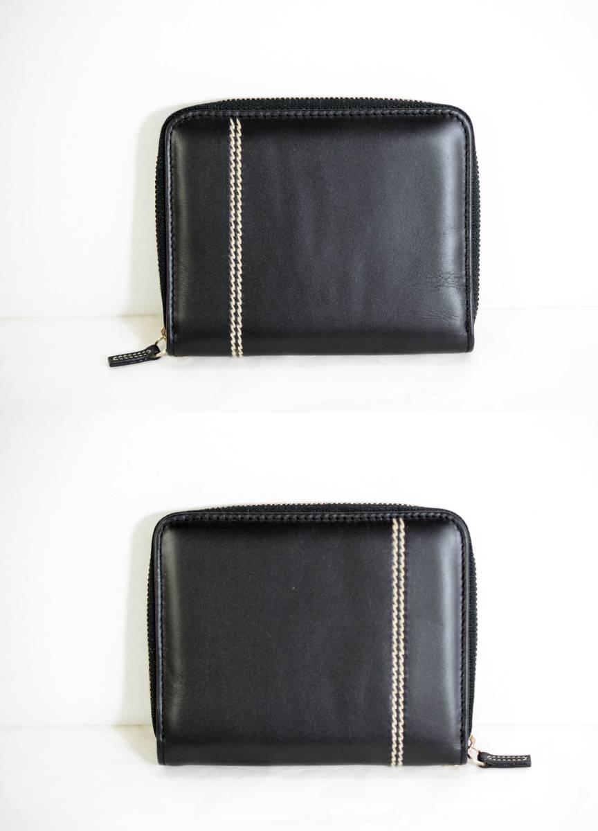 【未使用品】DUNHILL ダンヒル メンズ ラウンドファスナー 財布 レザー ブラック 正規品 本物_画像2