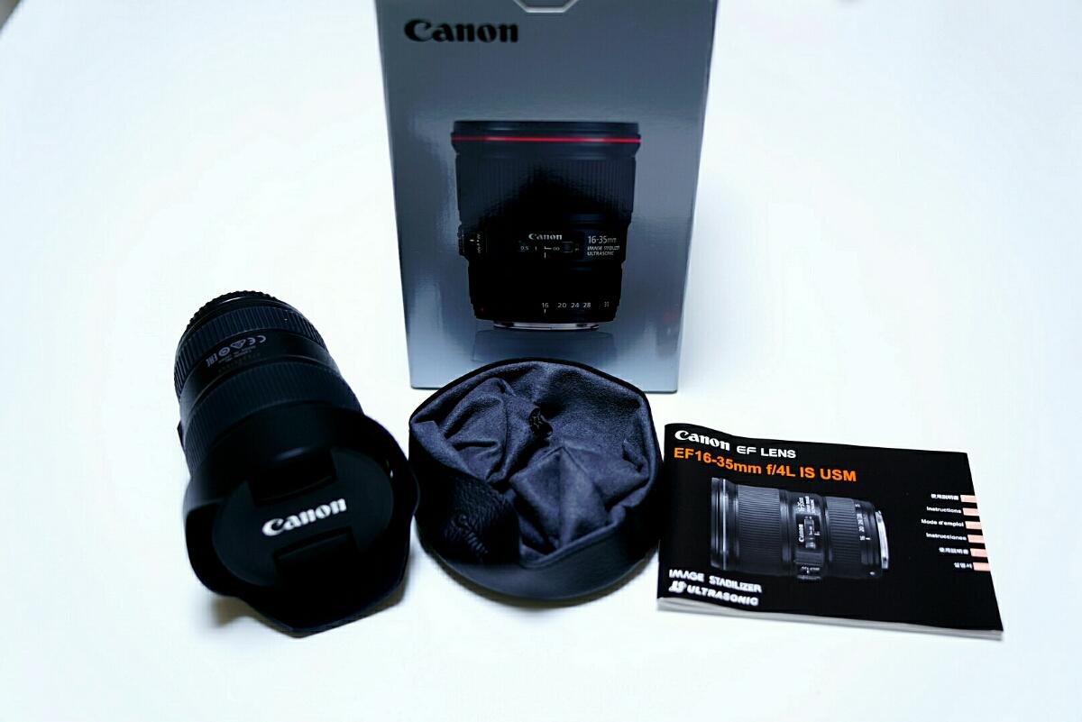 EF16-35mm f4L IS USM☆美品