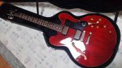 Epiphone セミアコギター 335 DOT/CH ハー