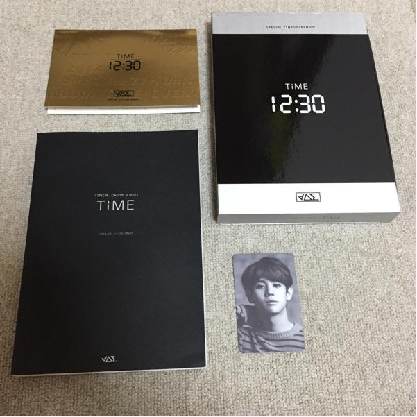 【トレカ:ヨソプ】beast 韓国 cd time