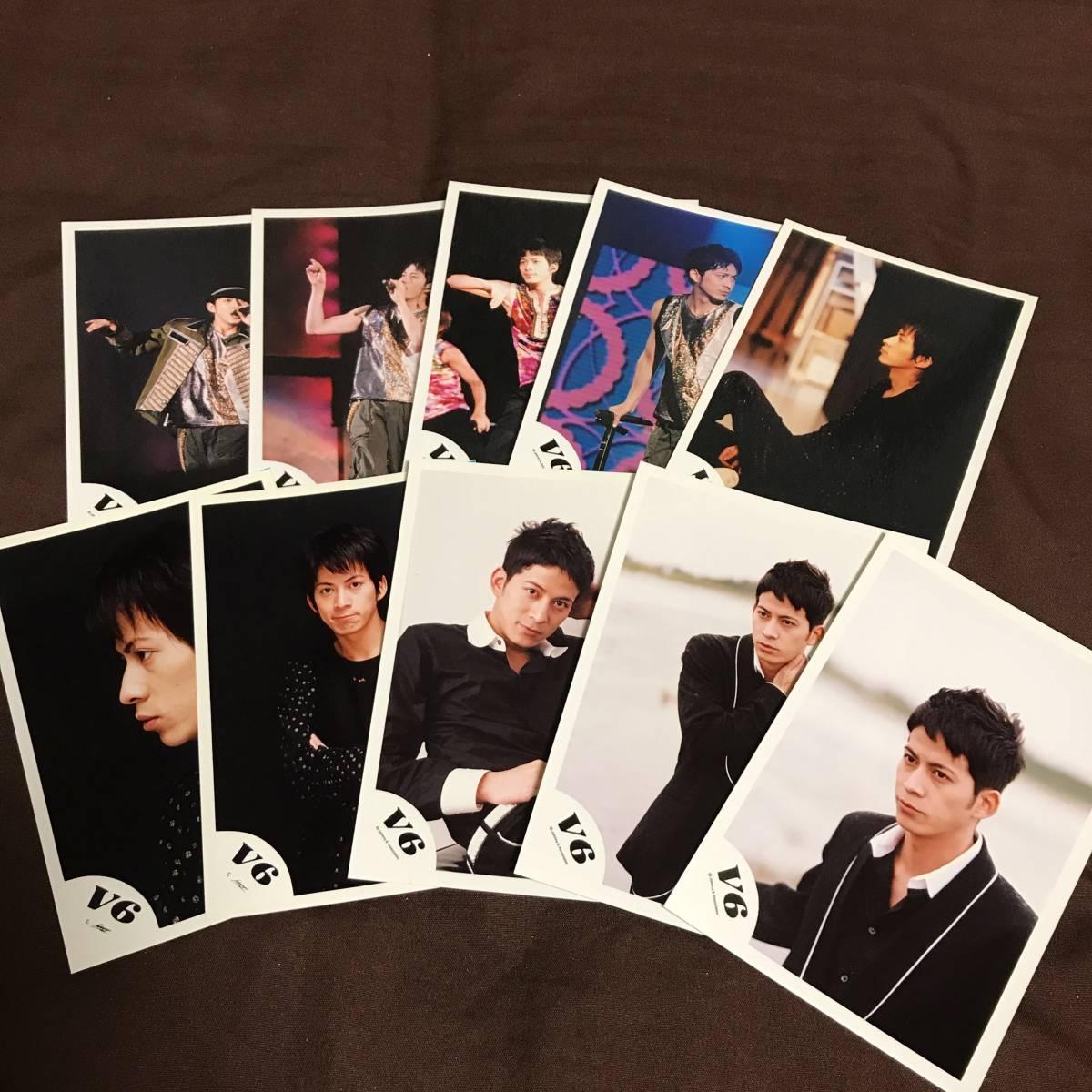 V6 岡田准一 公式写真 写真 ブロマイド グッズ コンサートグッズの画像