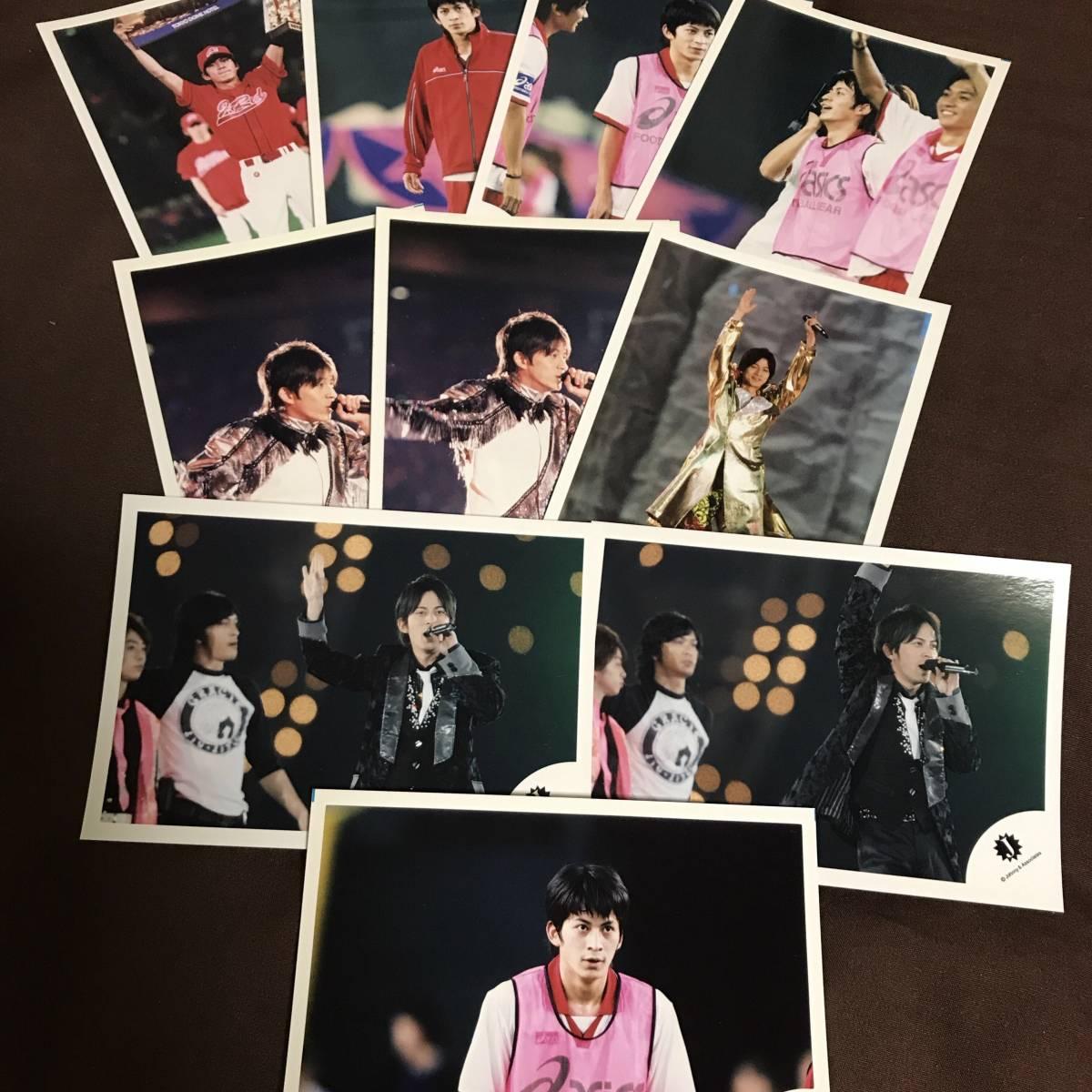 V6 岡田准一 公式写真 写真 ブロマイド グッズ ④ コンサートグッズの画像