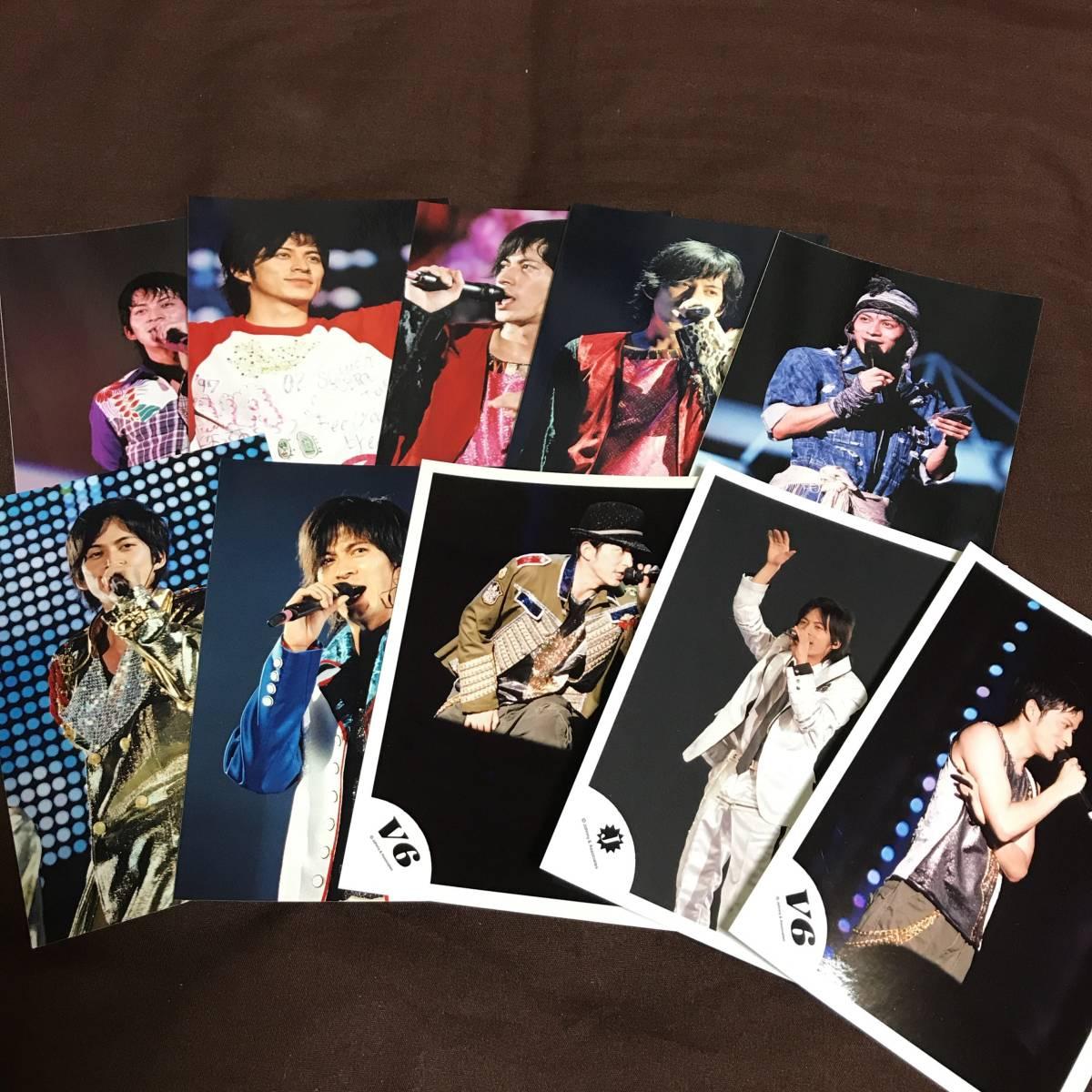 V6 岡田准一 公式写真 写真 ブロマイド グッズ ⑤ コンサートグッズの画像