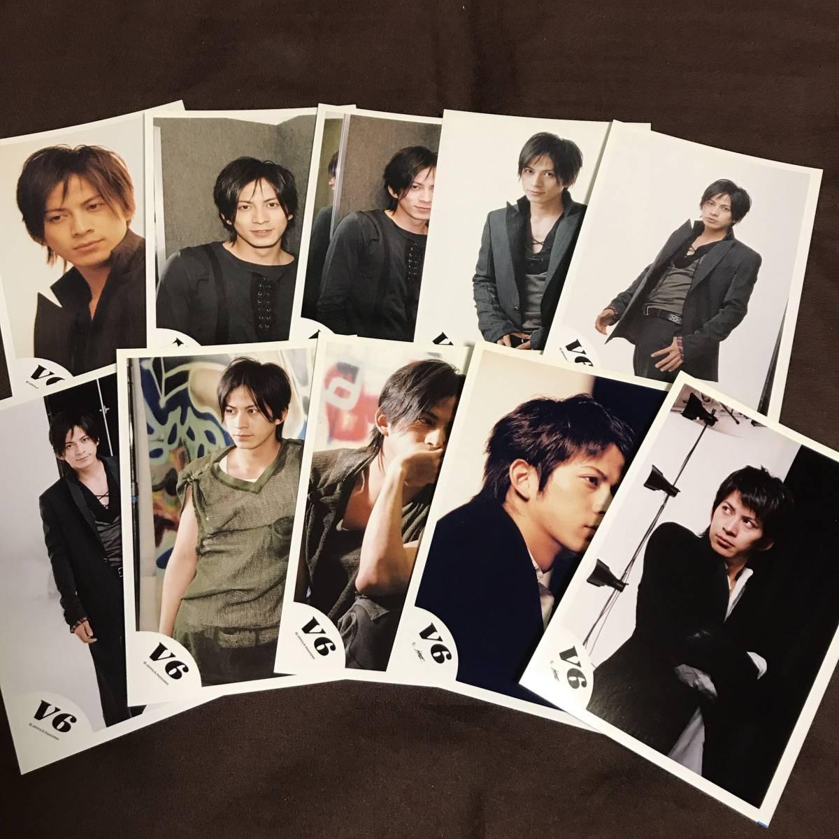 V6 岡田准一 公式写真 写真 ブロマイド グッズ ⑥ コンサートグッズの画像