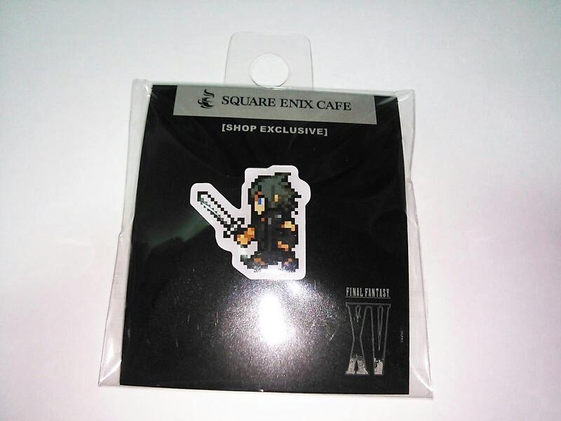 ファイナルファンタジー スクエニカフィ販売 ノクサス ピンバッジ 送料120円 グッズの画像