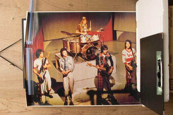 希少 ポスター ベイシティローラーズ ベイ・シティ・ローラーズ 1977 61cm*90cm