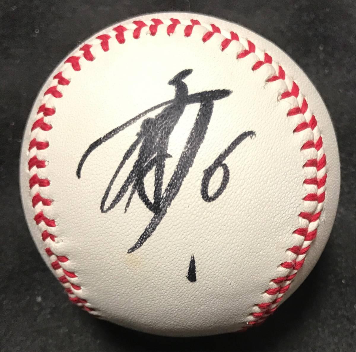 坂本勇人 直筆サインボール 投げ入れ 読売ジャイアンツ 巨人 プロ野球 グッズの画像