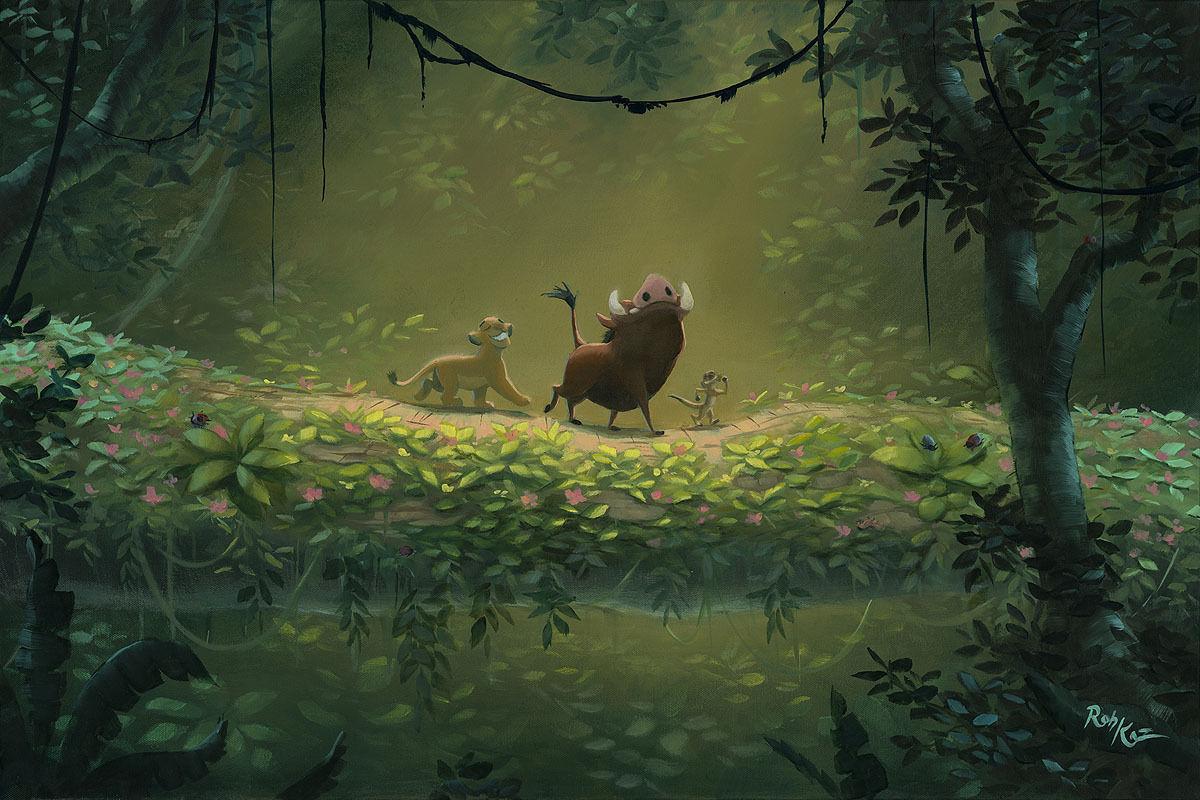 Disney Fine Art ディズニーファインアート ライオンキング 限定 レア Rob Kaz ディズニーグッズの画像
